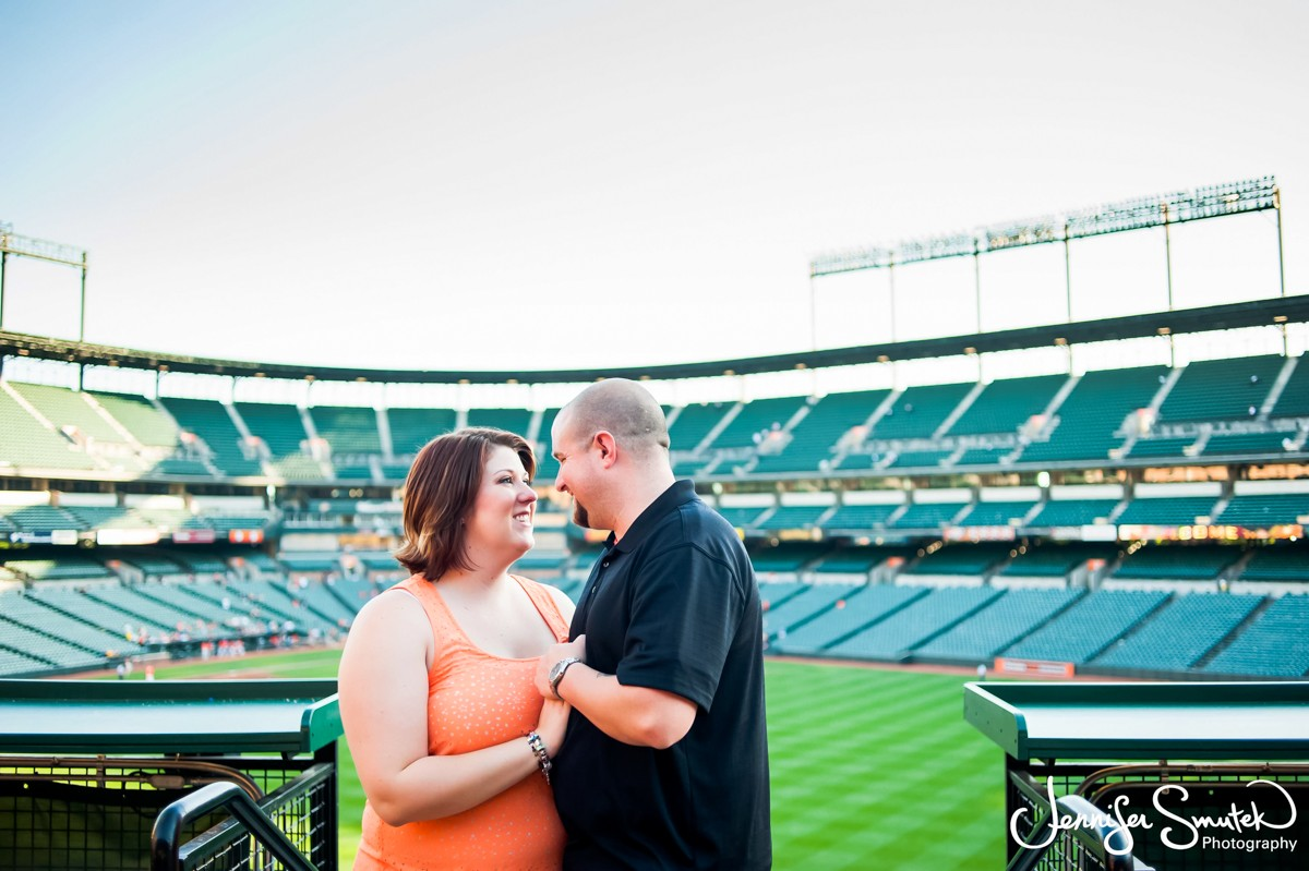 Camden Yards Engagement Session