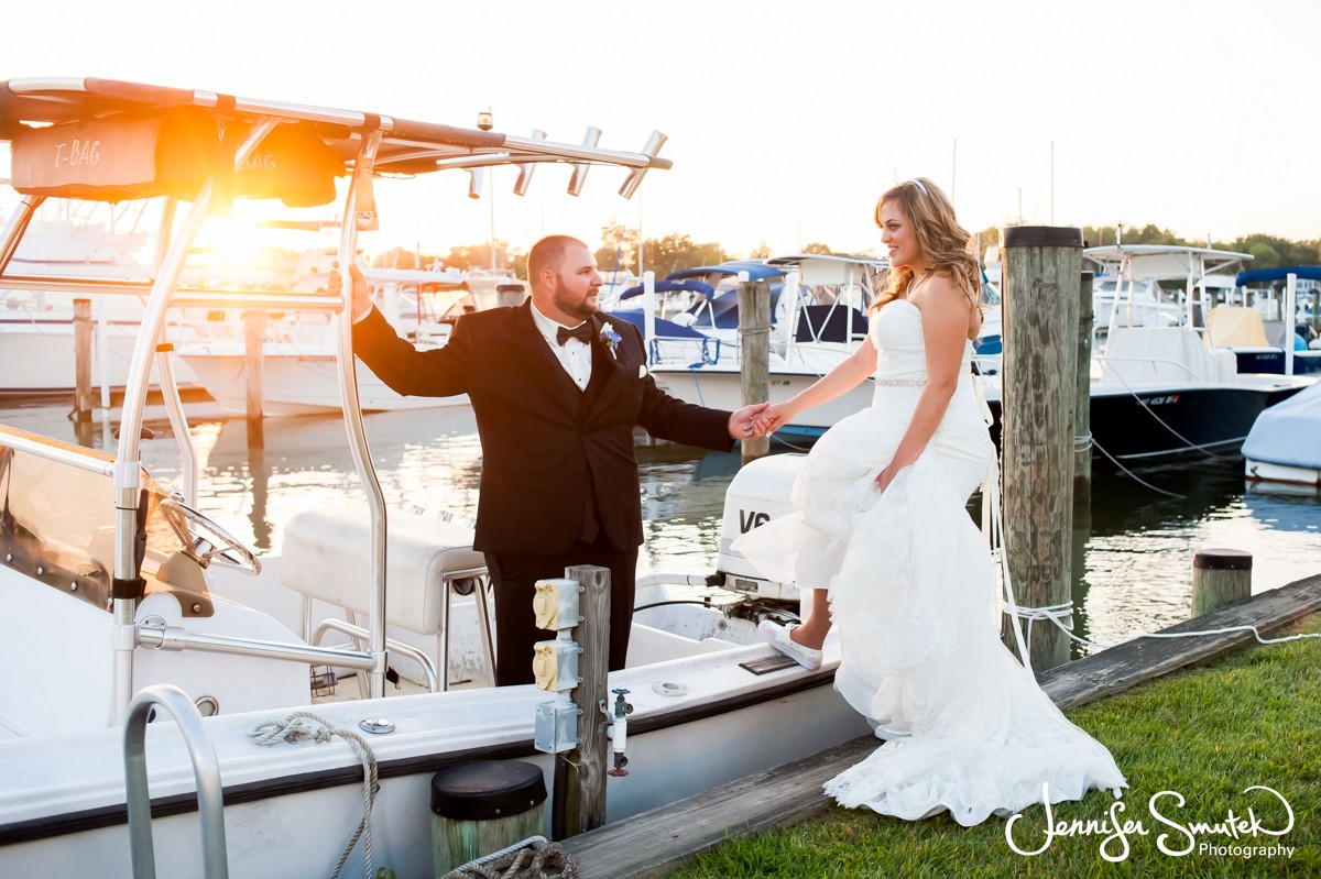 Baltimore Yacht Club Wedding