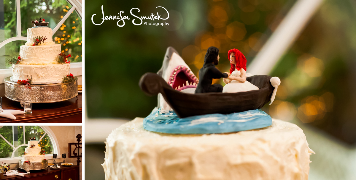 jaws cake topper