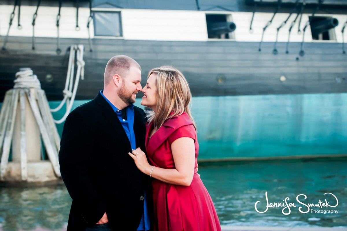 Baltimore Harbor Engagement