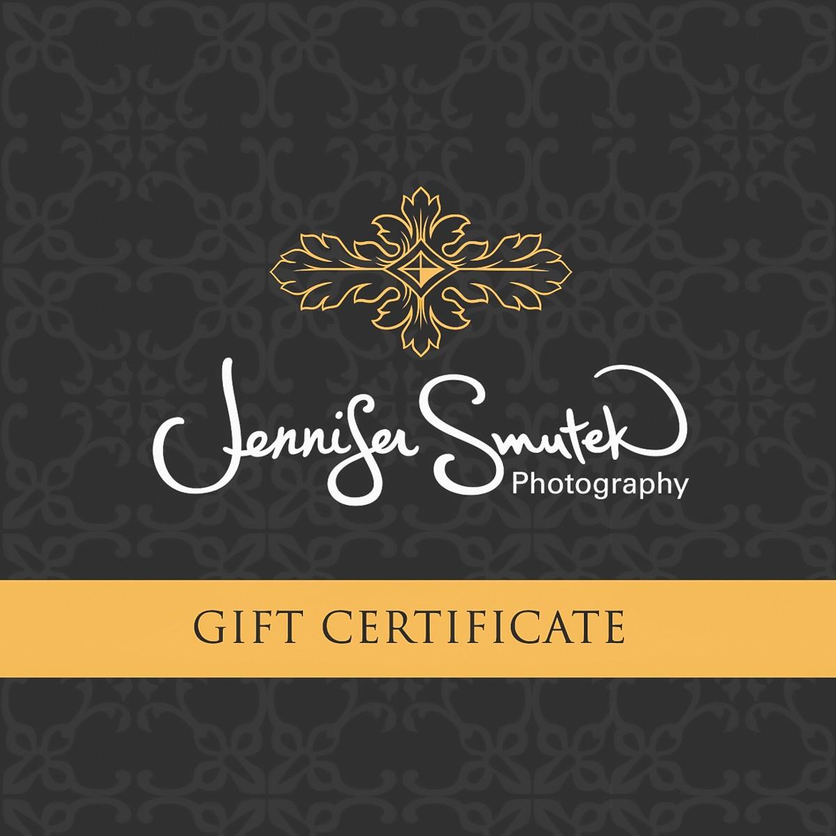 wedding album gift certificate