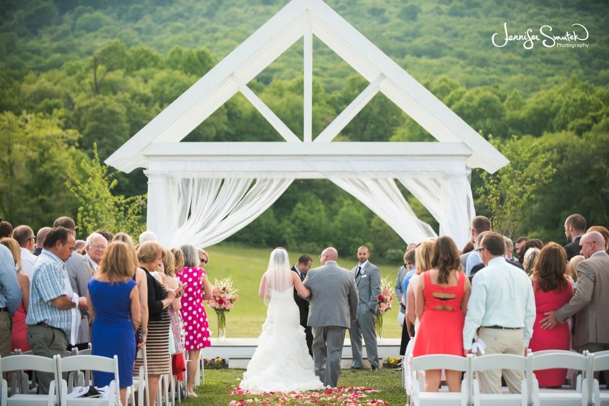 Outside Wedding Ceremony