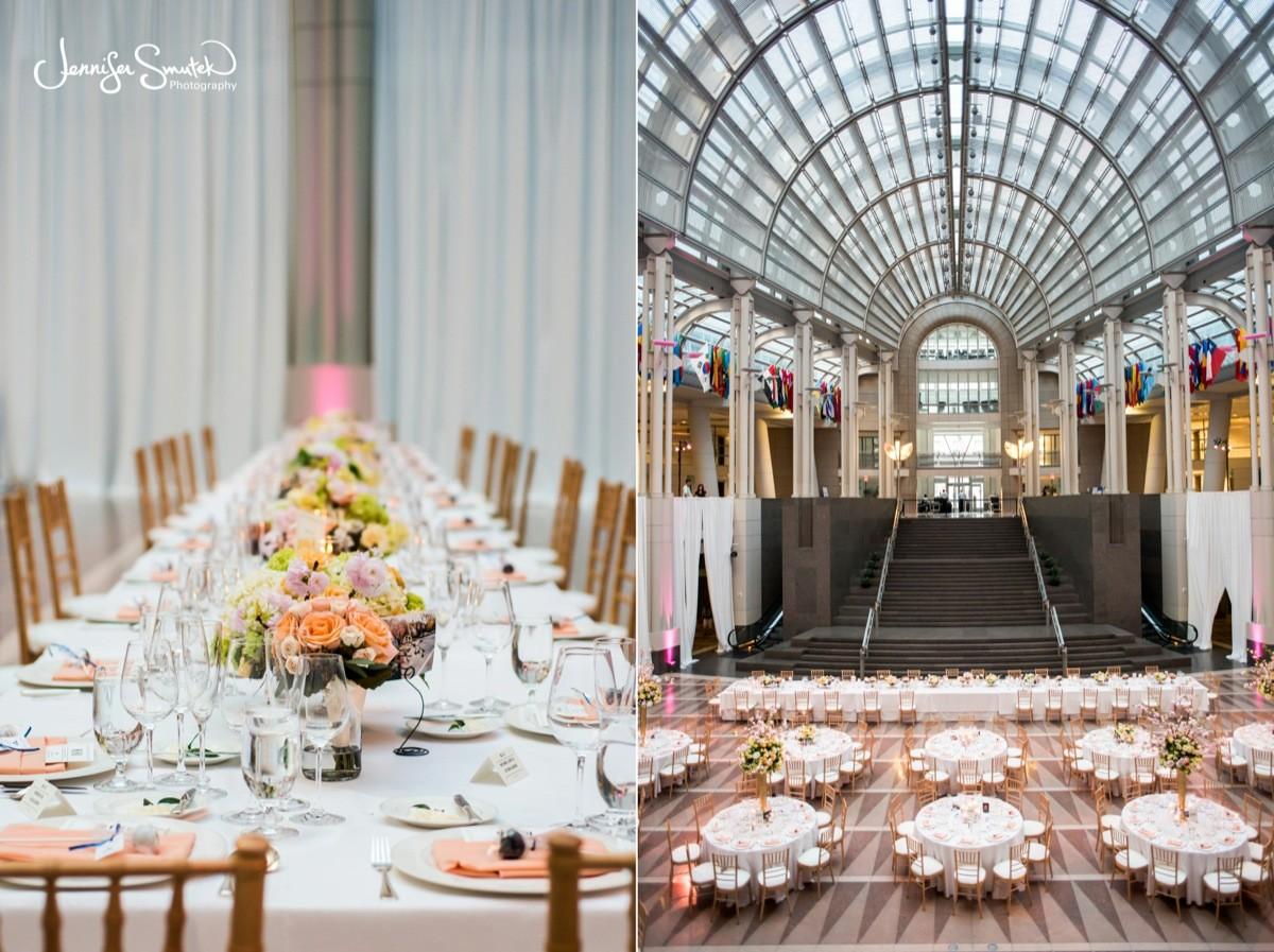 Dc Wedding Reception Ronald Reagan Building