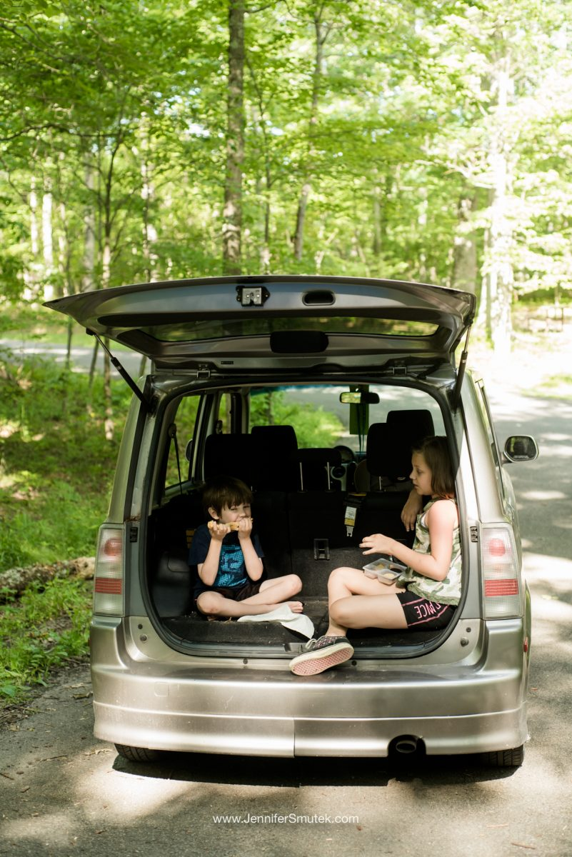 scion goes camping