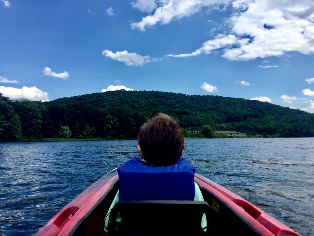 kayaking rocky gap state park