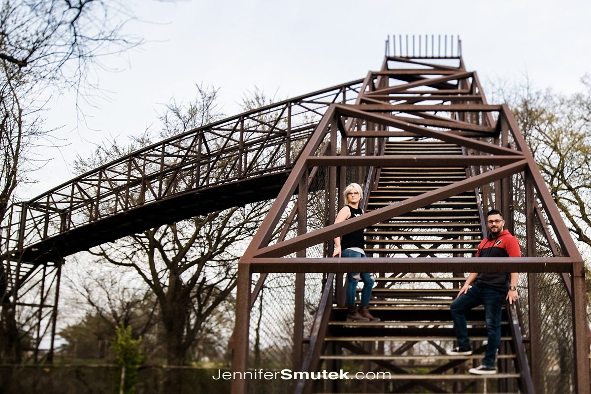 Train bridge in Dundalk