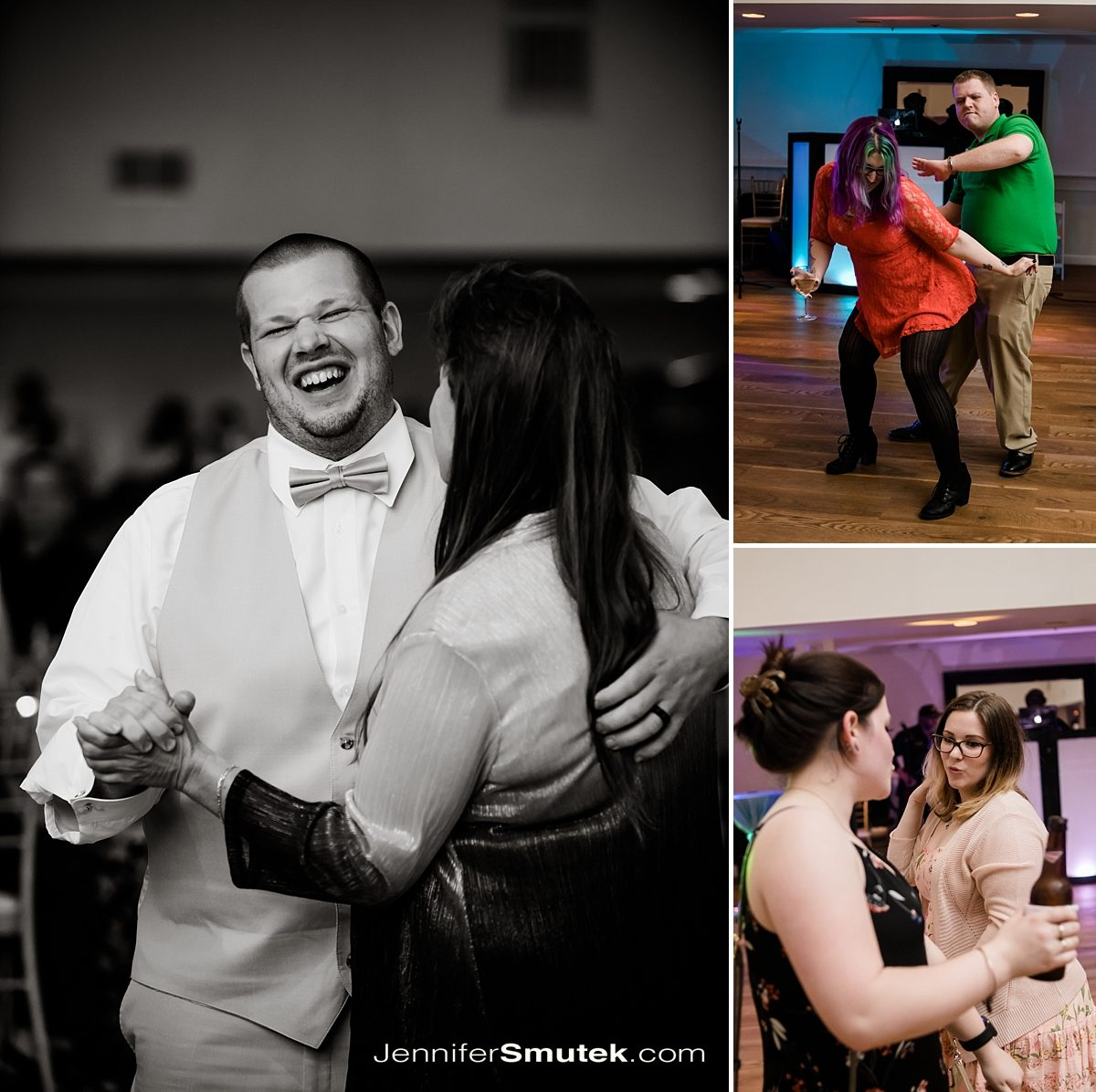 dancing bayfront club wedding