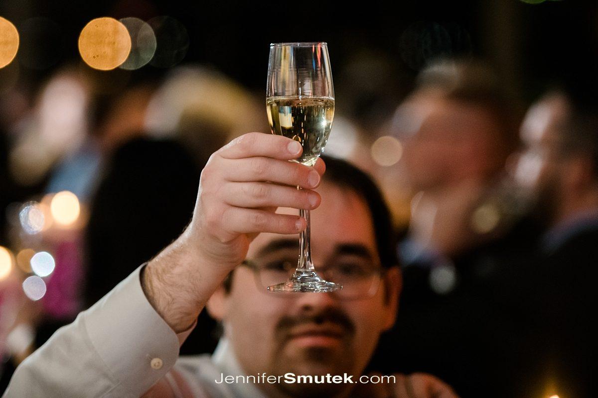 baltimore wedding photographer toasts
