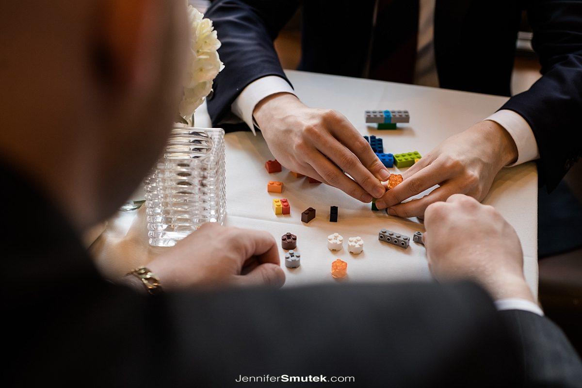 lego wedding favors