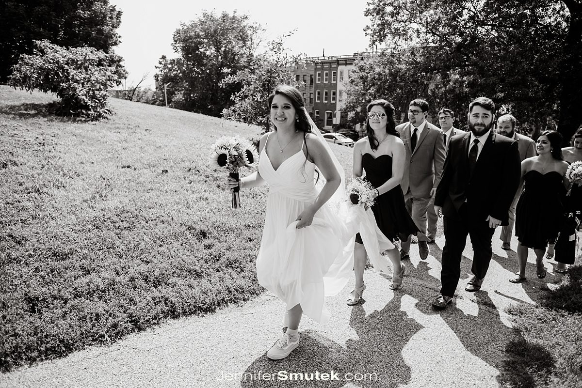 patterson park wedding photos