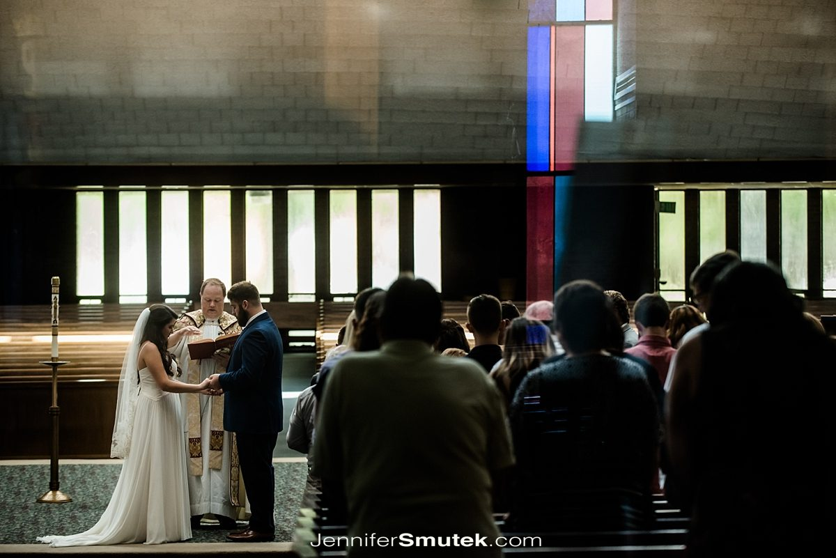 Our Lady of Hope Saint Luke Church Wedding in Baltimore