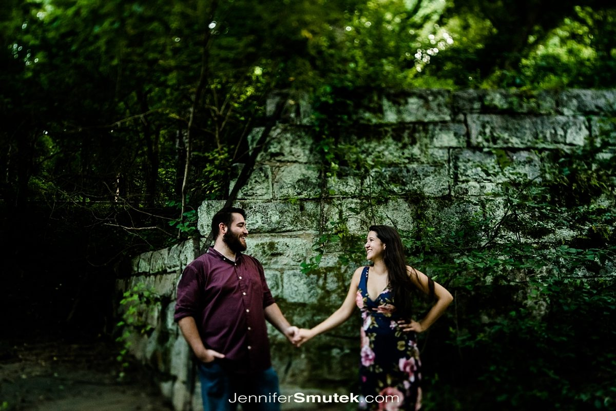 tilt shift engagement photos 24mm
