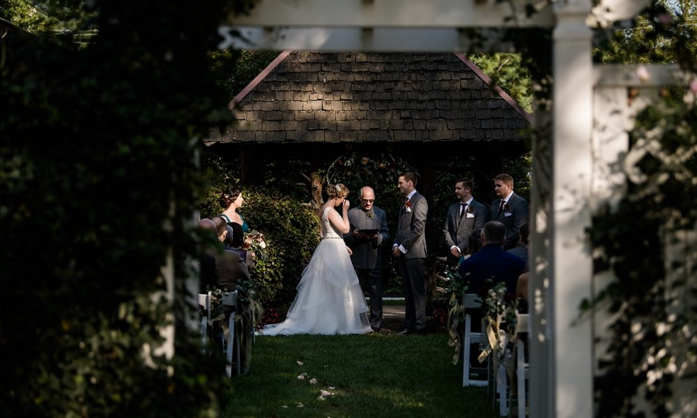 Erin & Paul | Fall Vandiver Inn Wedding