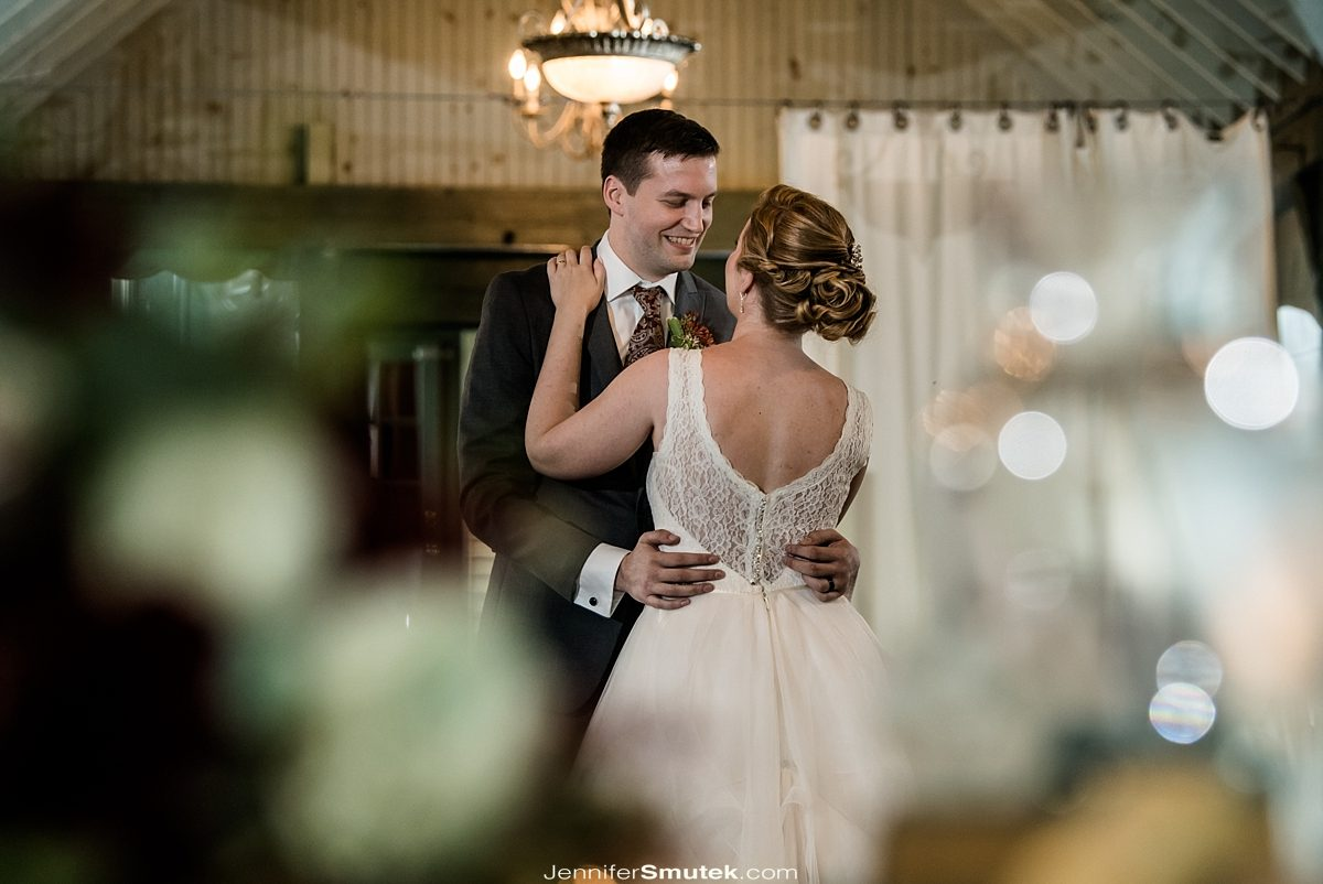 bride and grooms first dance Vandiver Inn
