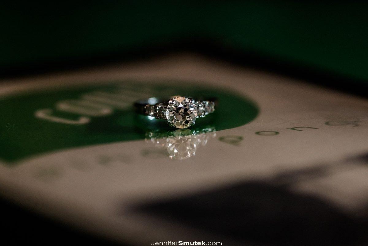 ring on menu