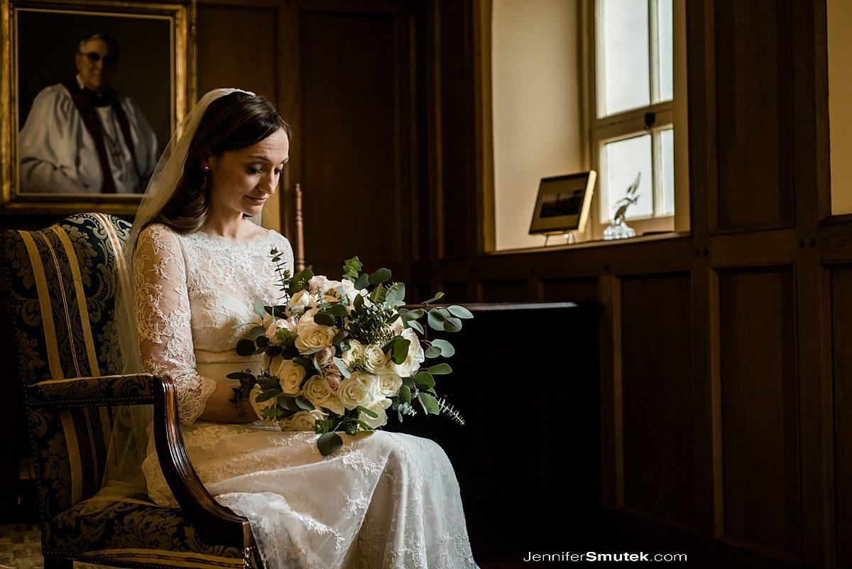 baltimore wedding bride getting ready