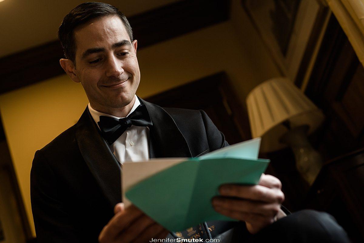 gift exchange on wedding day