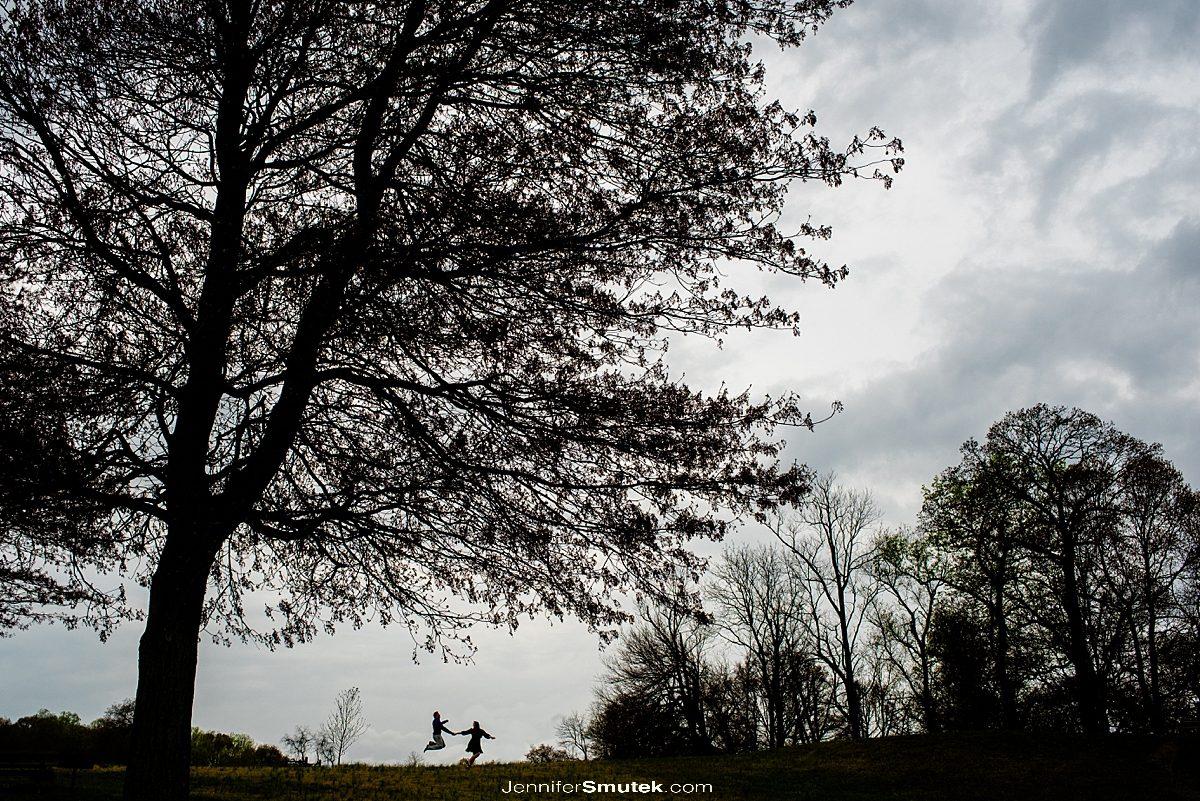 couple at gunpowder state park