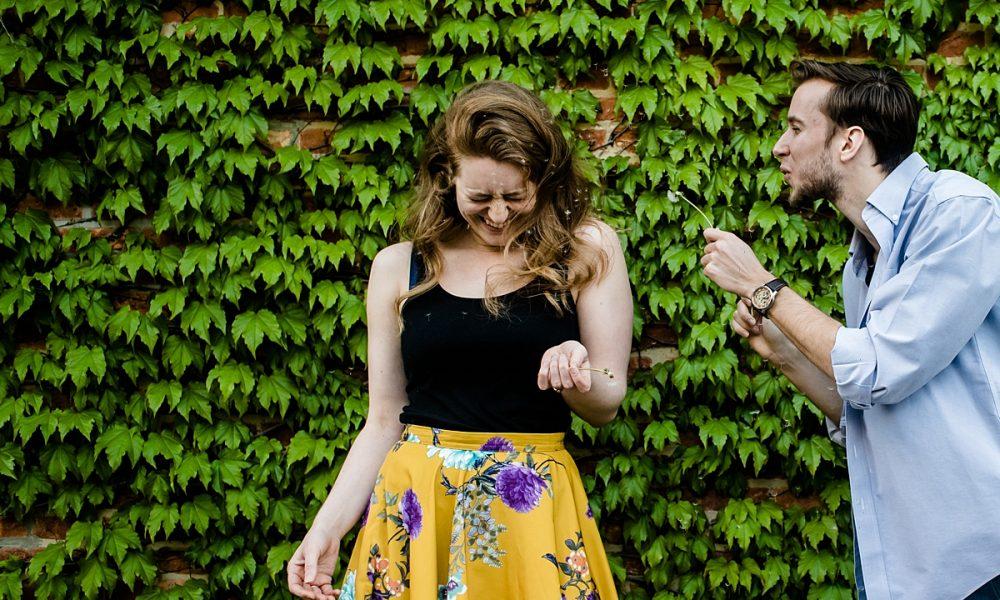 Grace & Josh | Bolton Hill Engagement Session