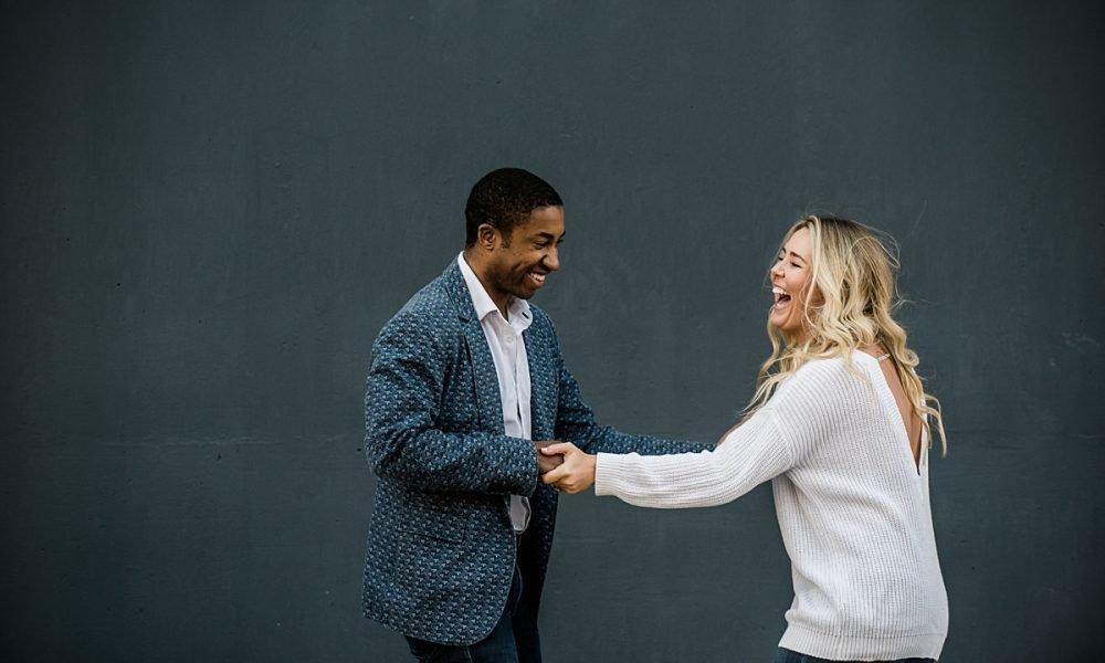 Kim & Sherrod   South Baltimore Engagement Session