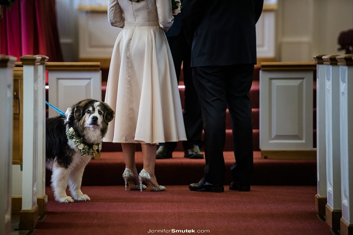 dogs at your church wedding
