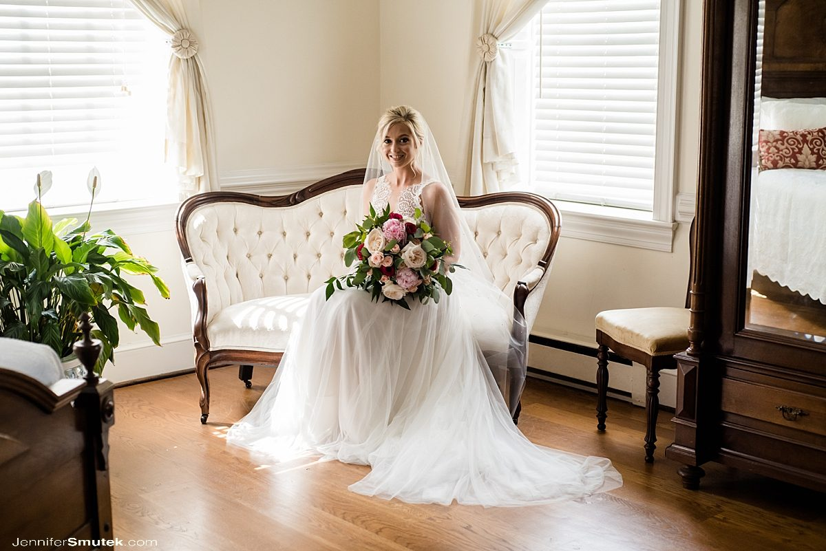 bride at stone manor country club