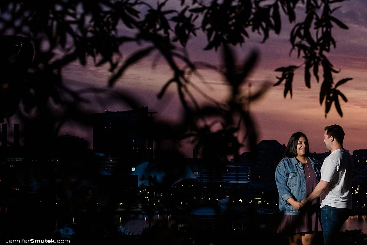 Sunrise Engagement Session at Federal Hill