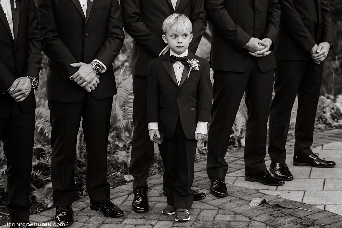 ring bearer at Elkridge Furnace Inn Wedding