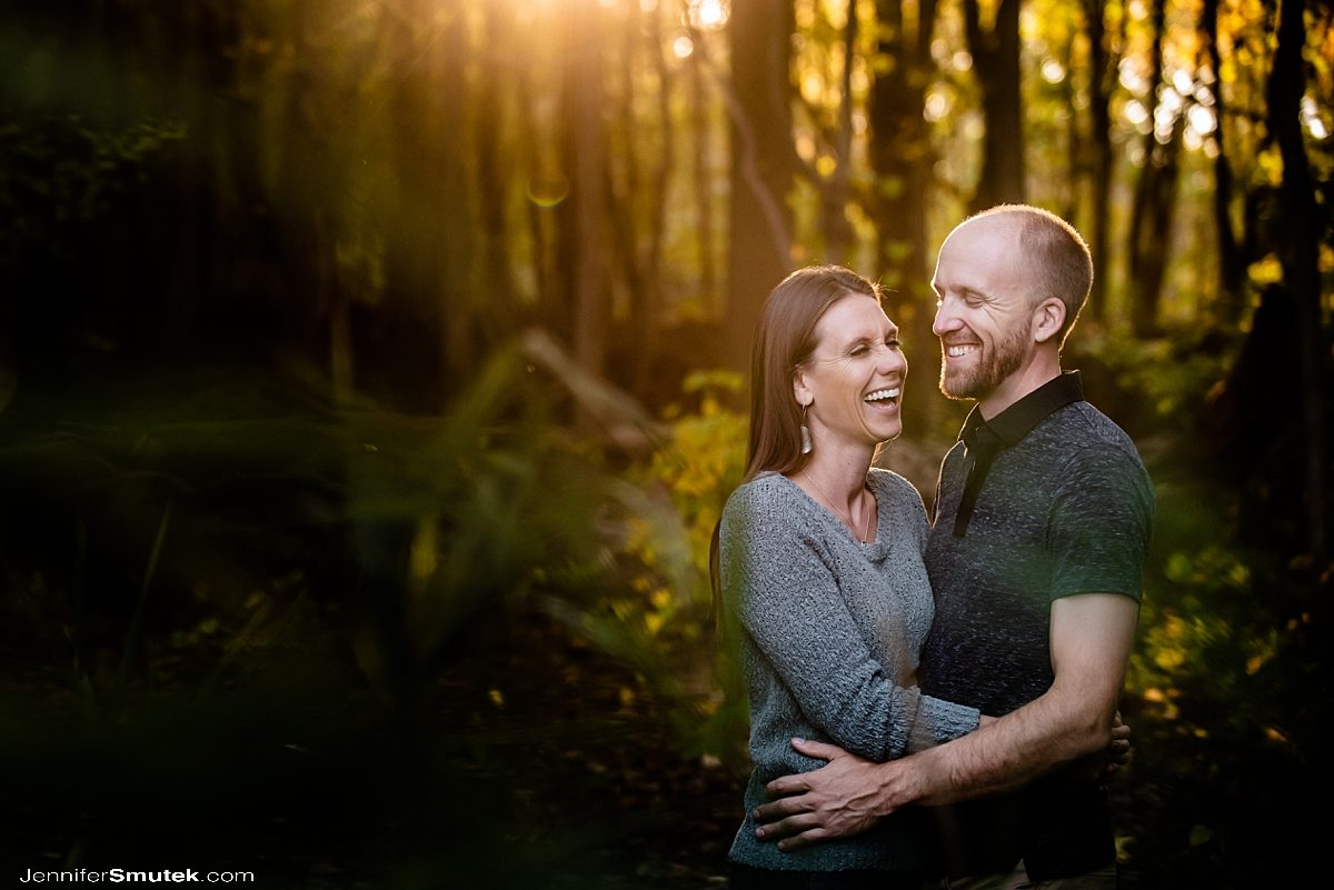 rocky point state park engagement session