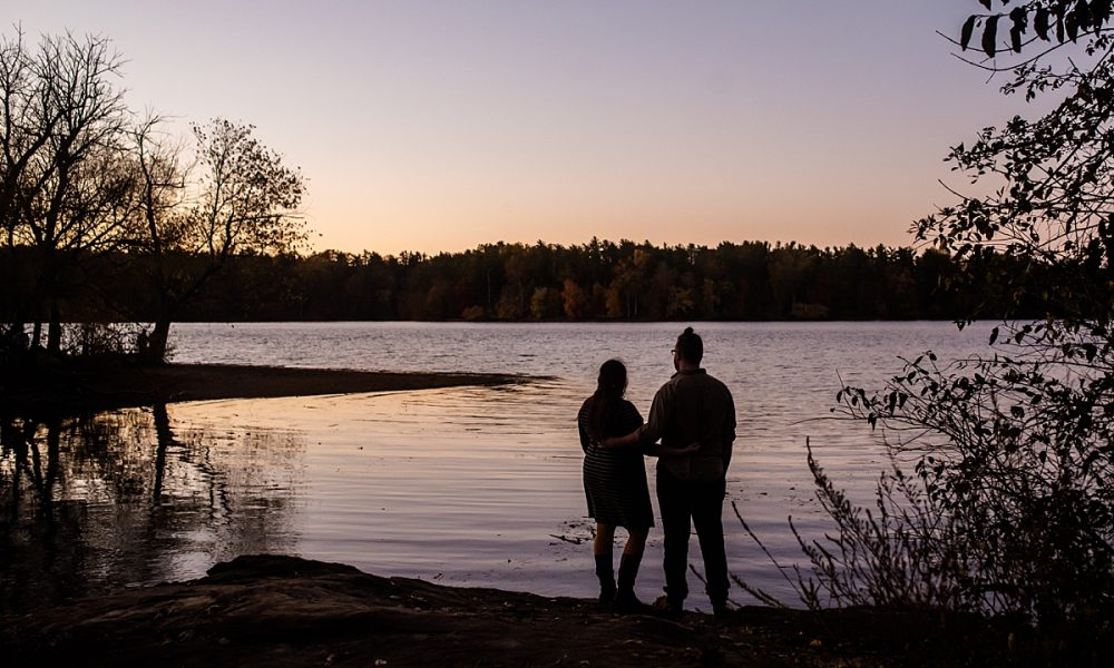 Ali & Isaac | Fall Loch Raven Engagement Session