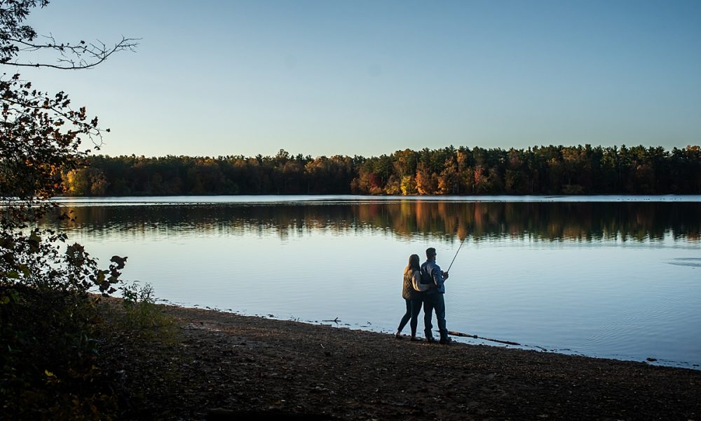 Emily & Ray | Fishing Loch Raven Engagement Session