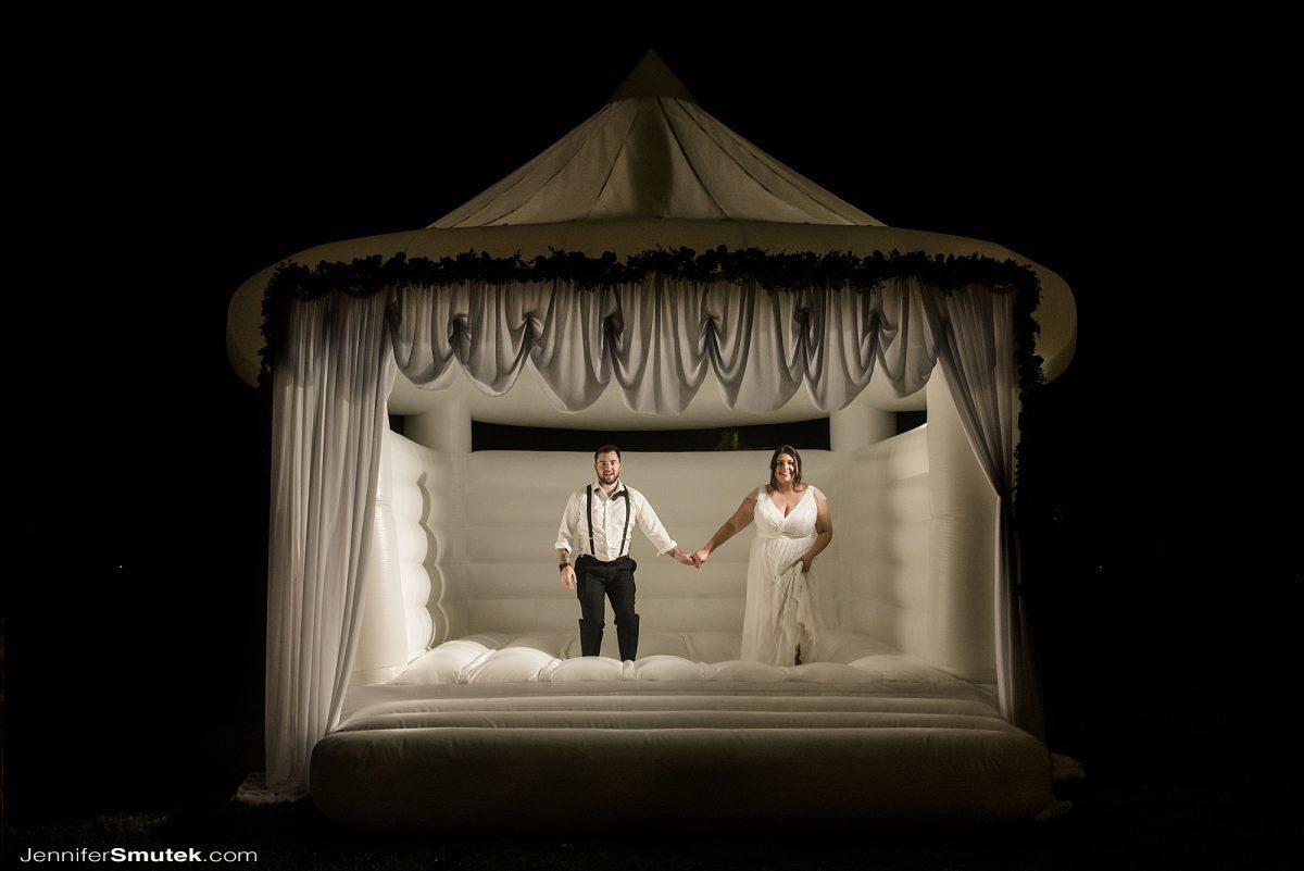 micro wedding bouncy house baltimore