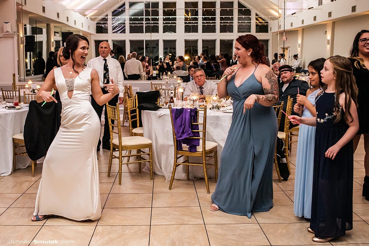 dancing celebrations at the bay wedding