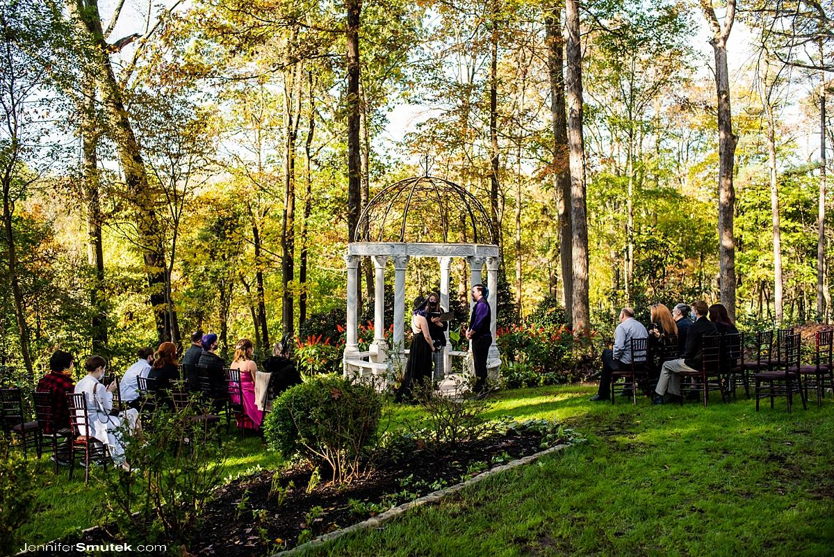 Micro wedding gramercy mansion halloween