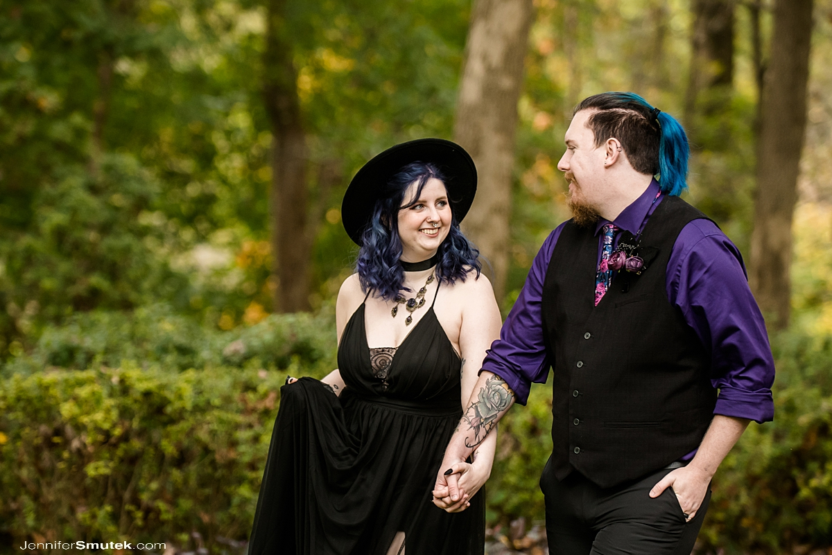 Micro Halloween Wedding at the Gramercy Mansion