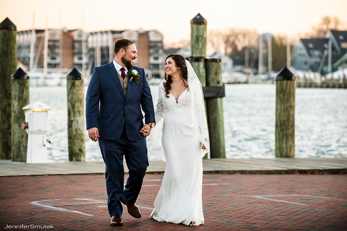 Winter Annapolis Micro Wedding