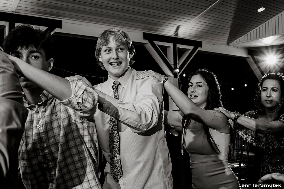 dancing Piney Branch Golf Club Bar Mitzvah