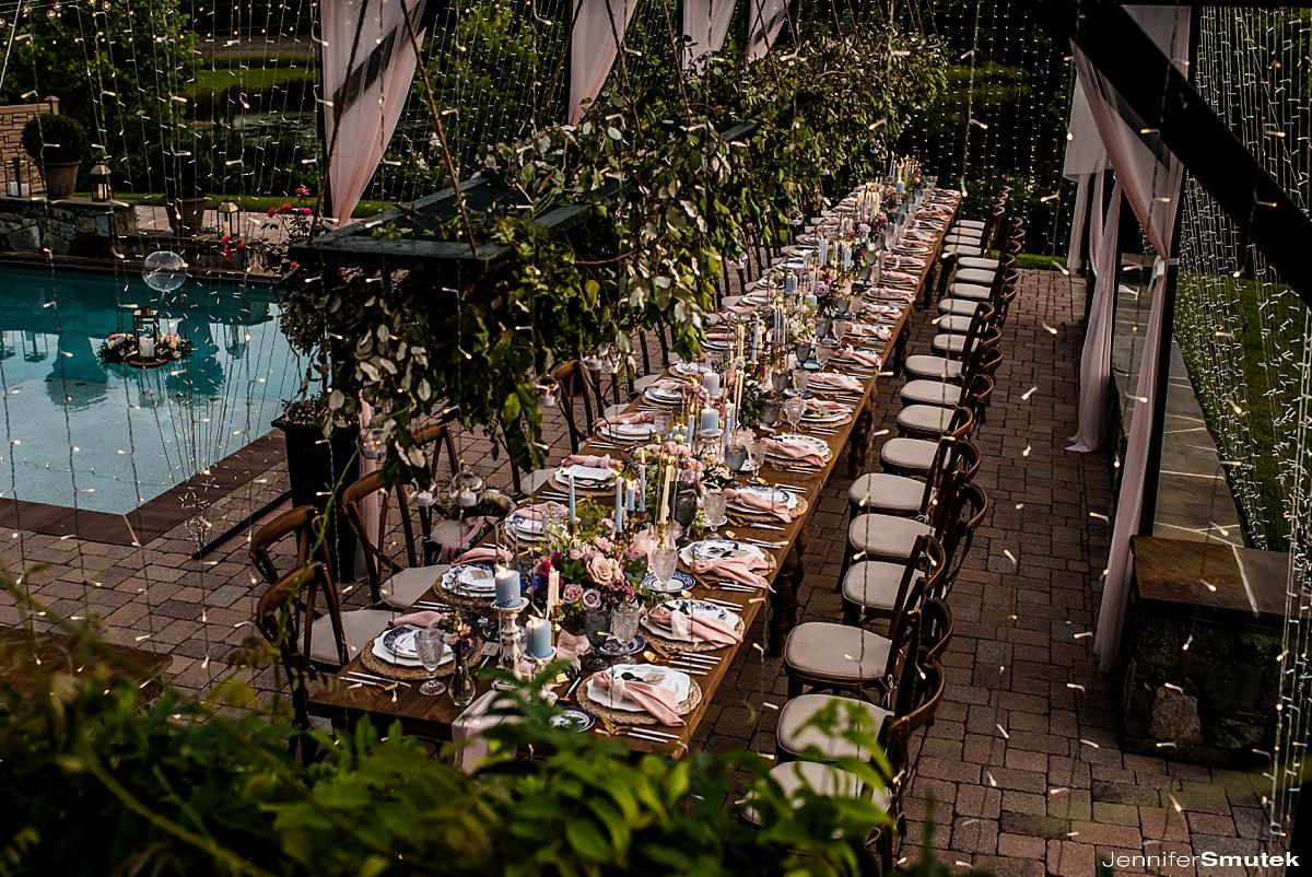 assorted glassware wedding