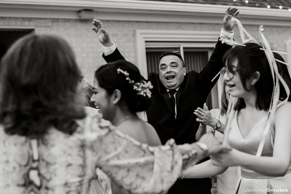 dancing Marcela & Mauricio | Maryland Micro Wedding