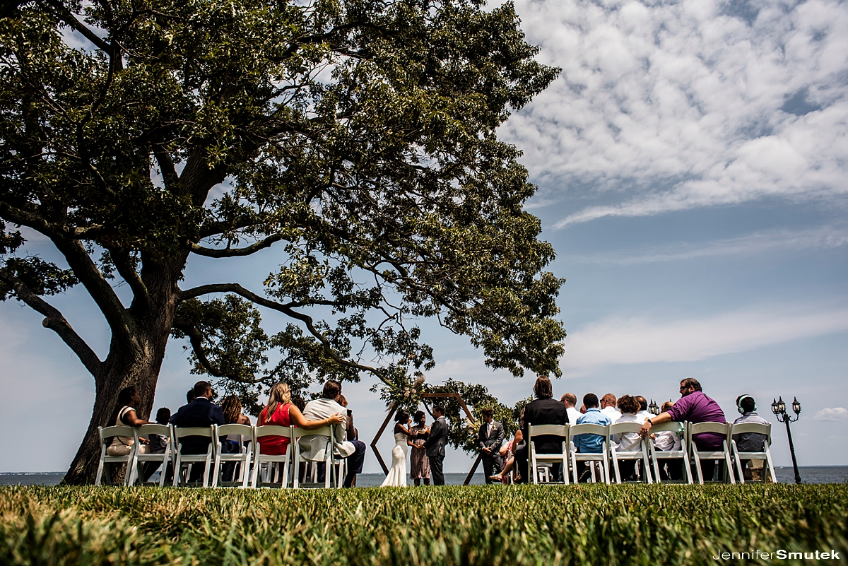 micro wedding in maryland celebrations at the bay